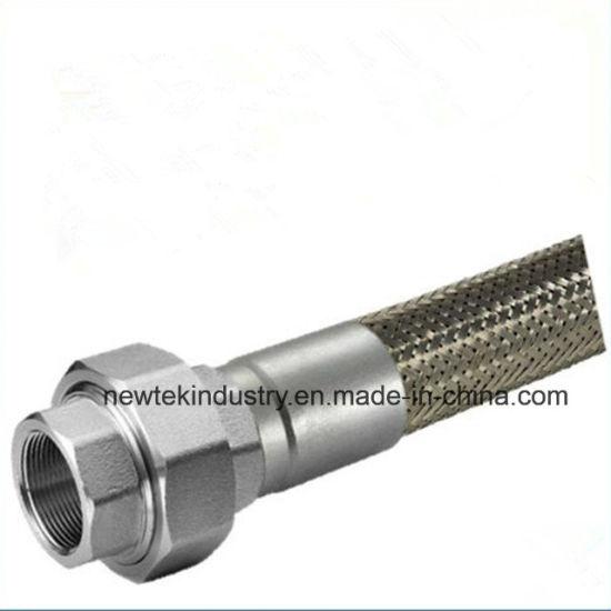 SS316 Union Coupling Connection Braided Flex Metal Hose  sc 1 st  Wenzhou Fuchuang Machinery Co. Ltd. & China SS316 Union Coupling Connection Braided Flex Metal Hose ...