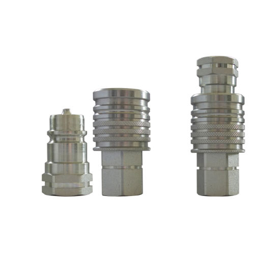 1/2'' NPT Quick Release Coupling for Hydraulic Fittings