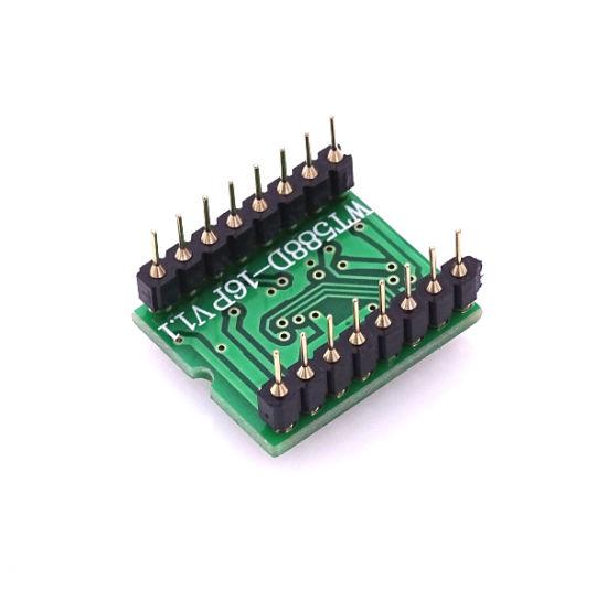 WT588D-16p 8M Voice Sound Modue Audio Player for Arduino UK SELLER #B86