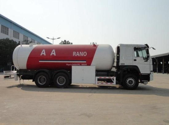 Good Quality Sinotruk HOWO 5cbm to 35cbm 6X4 LPG Tank Trucks for Delivery Gas with Dispenser