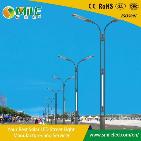 Solar Panel Moudle Charge Lithium Battery Waterproof Outdoor Solar Street Road LED Light for Lawn & Garden