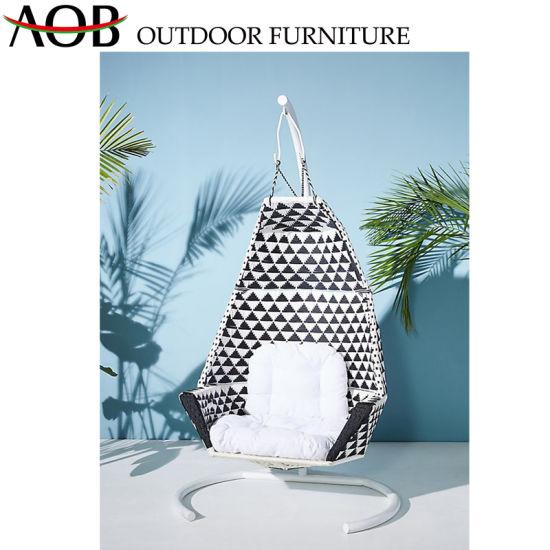 Garden Patio Furniture Wicker Swing Set