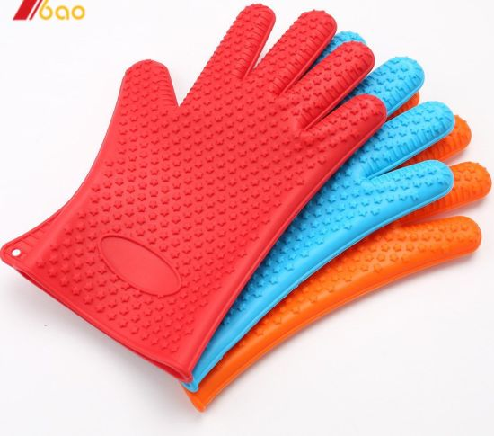 Hot Selling Silicone Baking Gloves