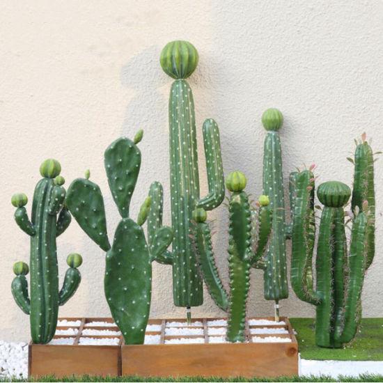 China Popular Artificial Cactus Plants, Outdoor Artificial Cactus Plants