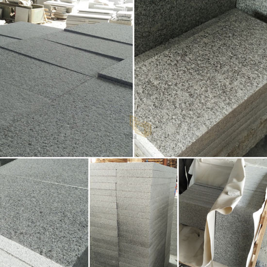 Chinese Light Grey G603 Granite Tiles for Outdoor Project