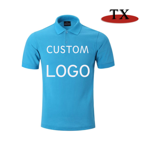 Hight Quality 260g Thickness Pique Cotton Polo Shirt pictures & photos