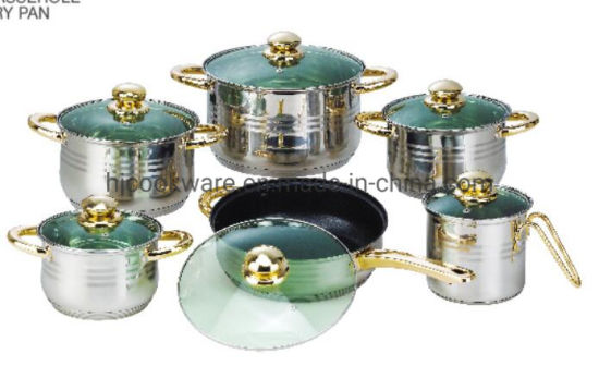 Kitchenware of 12PC Stainless Steel Cookware Set, Kitchen Appliances