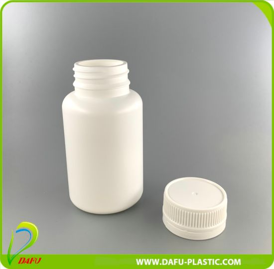 150ml HDPE Tablet Pill Plastic Bottle with Tamper Evident Cap