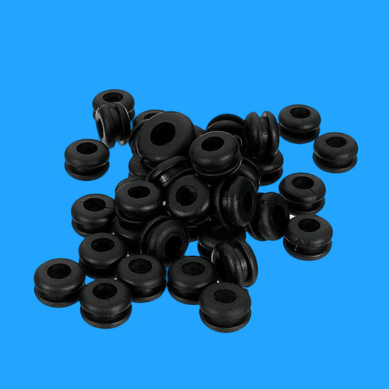 Custom Wholesale Black Natural Rubber Grommet