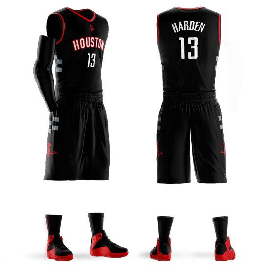 0162ecd8f8a55 China Sublimation Custom Basketball Jersey Uniform Design for Men ...
