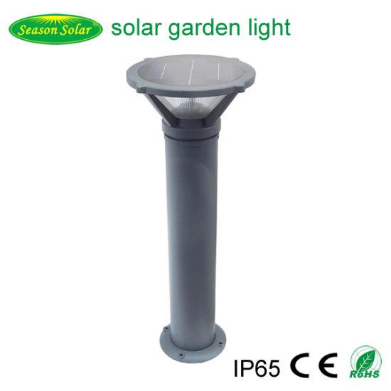 Bright 12W Outdoor Garden Light Fixtures 1m Solar Bollard Light with LED Light & Remote Control Lighting