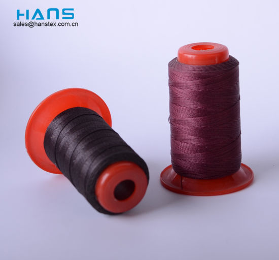 Hans Factory Prices Mixed Colors Bonded Polyester Thread pictures & photos
