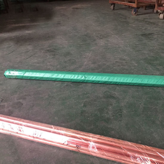 Copper-Bonded Steel Ground Rod Threaded or Pointed pictures & photos