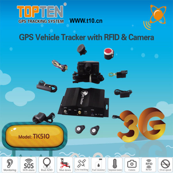 Camera GPS Tracking Fleet Management for Cars and Truck with 2.4G RFID Function Tk510-Ez pictures & photos