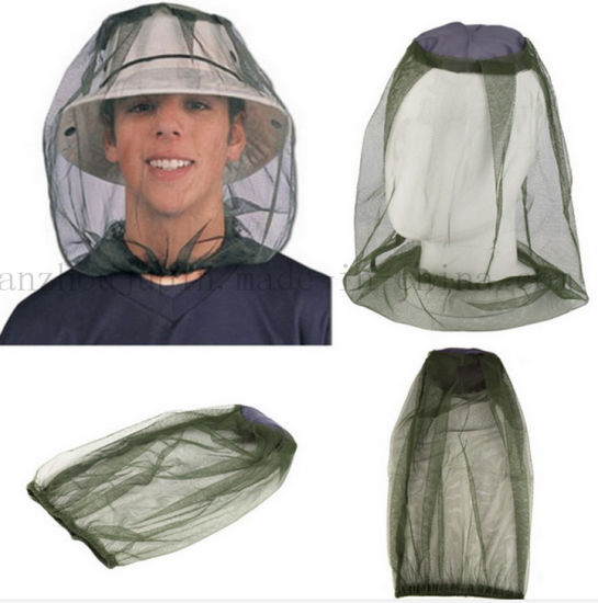 75db804b54b5e China OEM Outdoor Jungle Travel Hat Cap with Insect Mosquito Net ...
