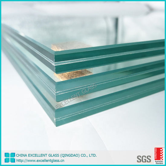 8mm 10mm 12mm Tempered Glass Balcony Railing/Tempered Laminated Glass/Building Glass/Safety Glass/Glass Fence/Shower Door Glass