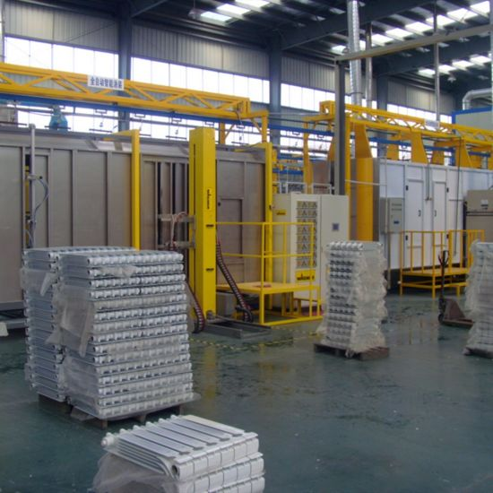 Automatic Liquid/Powder Coating Spray Production Line for Metal Furniture