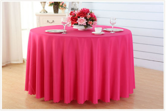 Cheap Price with Good Quality Tablecloth for Wedding Table Dining Table (M-X1190) pictures & photos