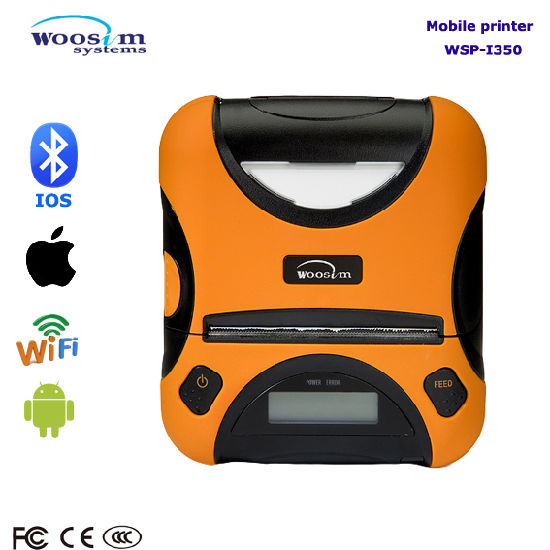 Portable 80mm Bluetooth Thermal Receipt Printer for Mobile pictures & photos