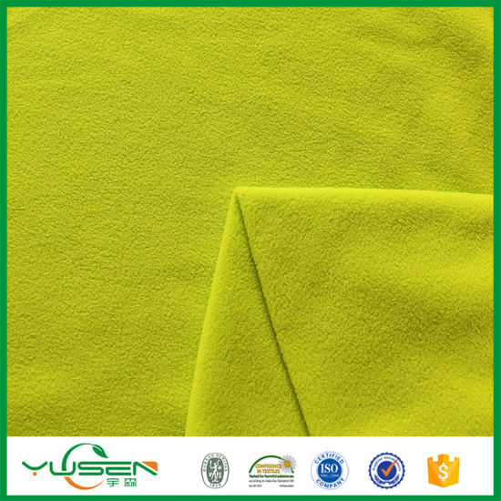 Breathable Fir Retardant Soft Polar Fleece Pill Polar Fleece Fabric for Ladies Jacket pictures & photos