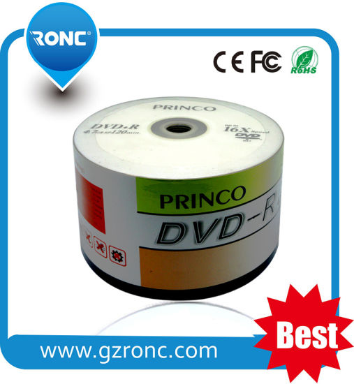 Top Grade 16X Blank Princo DVD Wholesale in China