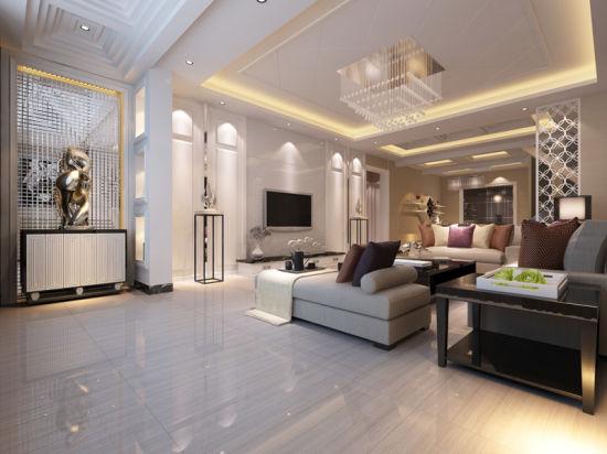 Bathroom Living Room Bedroom Decoration White Petrifide Wood Marble Flooring