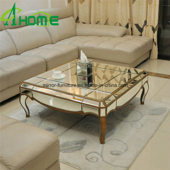 Living Room Furniture Modern Mirror Coffee Table From Factory