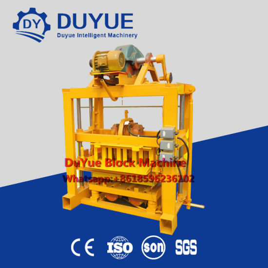 Qtj4-40 Small Size Concrete Block Making Machine Hot Sale in Bangladesh pictures & photos