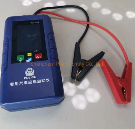 Batteryless Ultra Capacitor Jump Starter, Auto-Absorb The Rest Power From a Dead Battery to Re-Start Engine