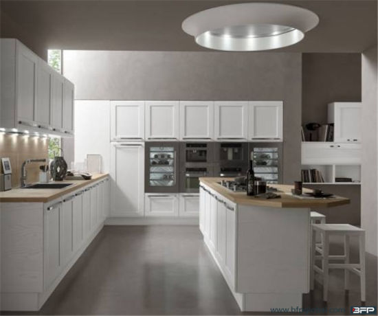 Customized Best Material PVC Door for Modular Wooden Kitchen Cabinet pictures & photos