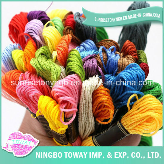 202 203 Spun Textile Embroidery Sewing Cotton Thread pictures & photos