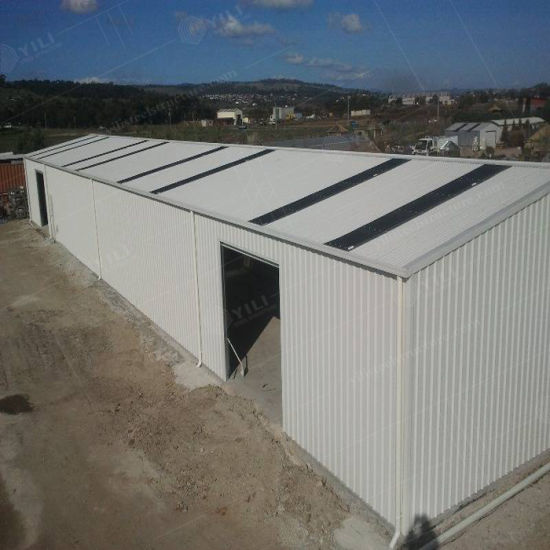 Prefabricated Easy to Install Factory Direct Sale Steel Warehouse Storage