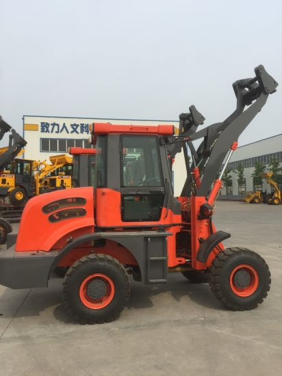 China 4WD Wheel Loader with Electronic Joystick Zl-16 Loader