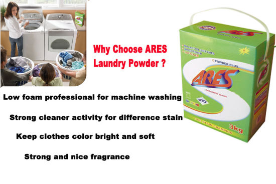 China Good Quality Good Price Laundry Washing Powder