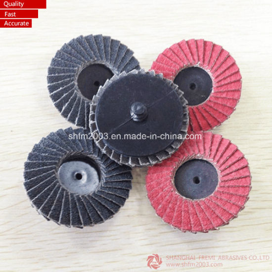 "2"" & 3"" Vsm Ceramic & Zirconia Mini Flap Disc pictures & photos"