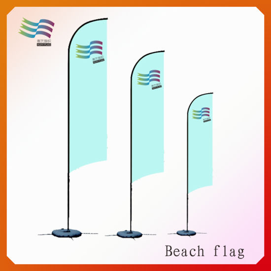 2015 Advertising Flying Outdoor Beach Wing Banners pictures & photos