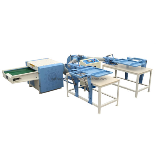 Automatic Polyester Chemical Ball Fiber Pillow Filling Machine