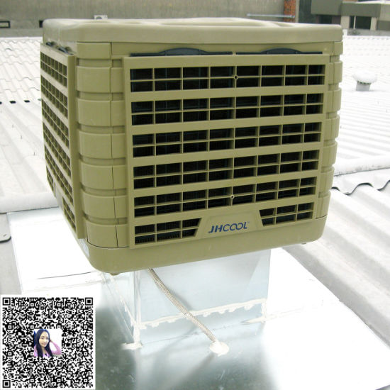 China Roof Mounted Water Evaporative Air Cooler for Cooling
