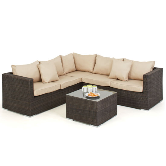 Modern Classical Multi Use Outdoor Garden Furniture Rattan Chairs Lounge  Sofa Set