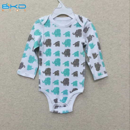 Printing Style Baby Clothes OEM Baby Bodys