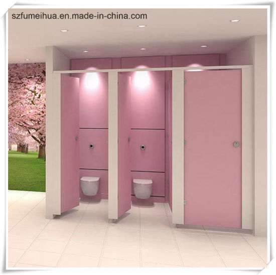 Pink Phenolic Toilet Partition Board Cubicle Door/ HPL Partition & China Pink Phenolic Toilet Partition Board Cubicle Door/ HPL ...