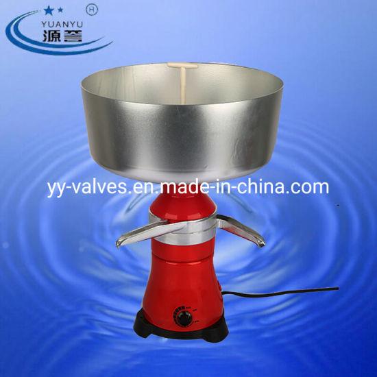 Milk cream electric centrifugal separator Metal 100L//h NEW!