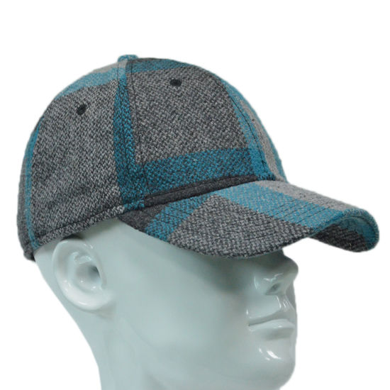 Wholesale Structured Casual Acrylic Full Back Flexfit Baseball Cap Fitted Hat pictures & photos