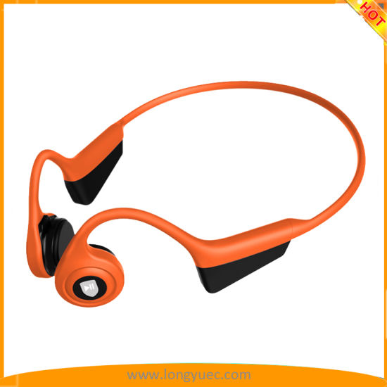 Ipx5 Waterproof Sport Bone Conduction Bluetooth Headphones, Open Ear Lightweight Stereo Hands-Free