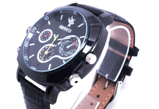 CMOS 1080P Man Watches with HD Camera Supports Voice Recording Wrist Watch DVR Cam pictures & photos