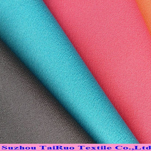 Poly Microfiber Peach Skin with Brushed for Jacket Fabric