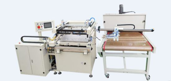 HY-Z69 Automatic Heat Transfer Paper Screen Printing Machine for Label Packing Printer Silk Screen Printer Machinery