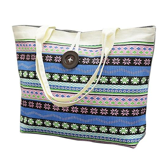 Large Capacity Cotton Shopping Bag Canvas Tote Bag for Women and Girls  pictures   photos 644d4b1df5