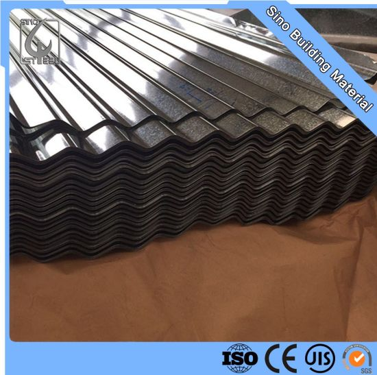 Gi Corrugated Galvanized Steel Sheet Roofing Metal