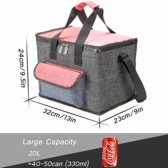 Insulated Lunch Box Picnic Food Cooler School Office Carry Portable Cool Bags UK